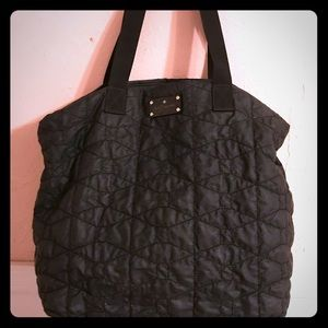 Kate Spade Quilted Bon Shopper/Diaper Bag